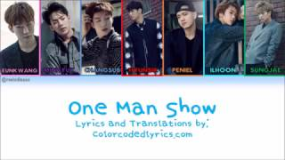 [HAN|ROM|ENG] BTOB - One Man Show Lyrics MP3