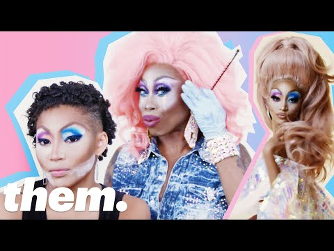 Monique Heart Gives Amandla Stenberg a Drag Makeover | them.