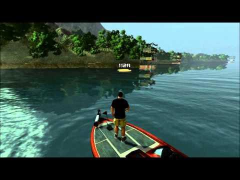 Rapala Pro Bass Fishing - Free Fishing Lake Casitas (PS3)
