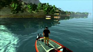 Rapala Pro Bass Fishing - Free Fishing Lake Casitas (PS3)