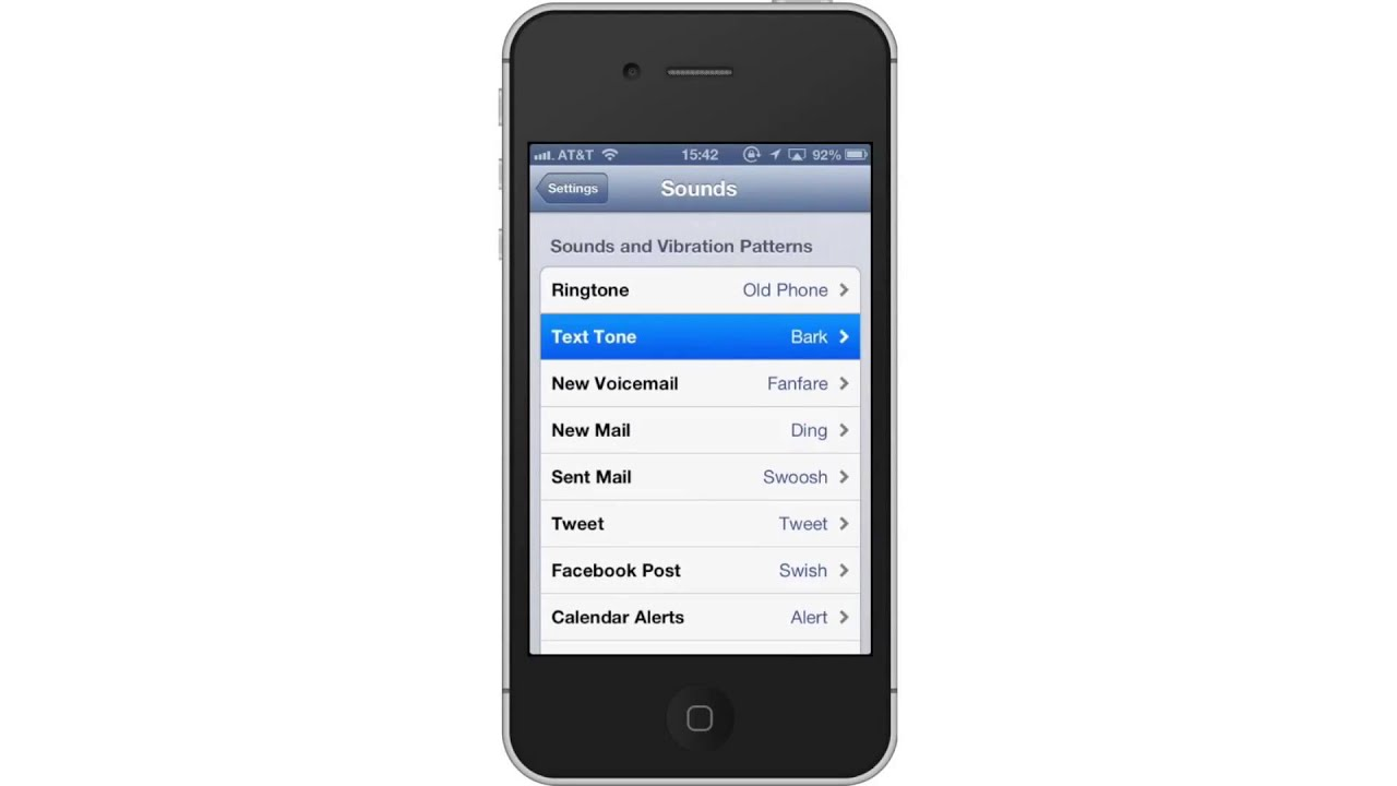 how to change ringtone on iphone 5 how to change iphone sms ringtones 7536