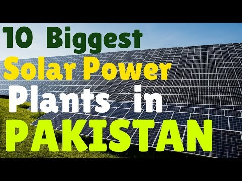 Top 10 Solar Power Plants in Pakistan | T10PP