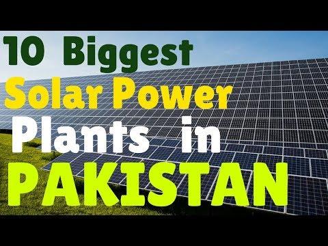 Top 10 Solar Power Plants in Pakistan | T10PP