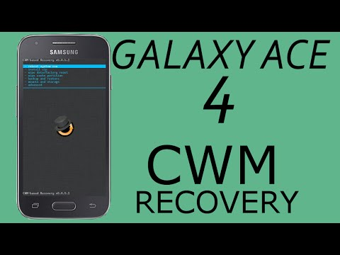 CWM | Philz Recovery Install Samsung Galaxy Ace 4 | Trend 2 | S Duos