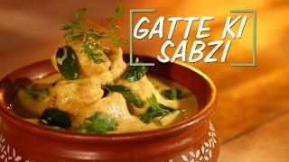 Gatte Ki Sabzi Recipe | Saffola Fit Foodie | How To | Healthy