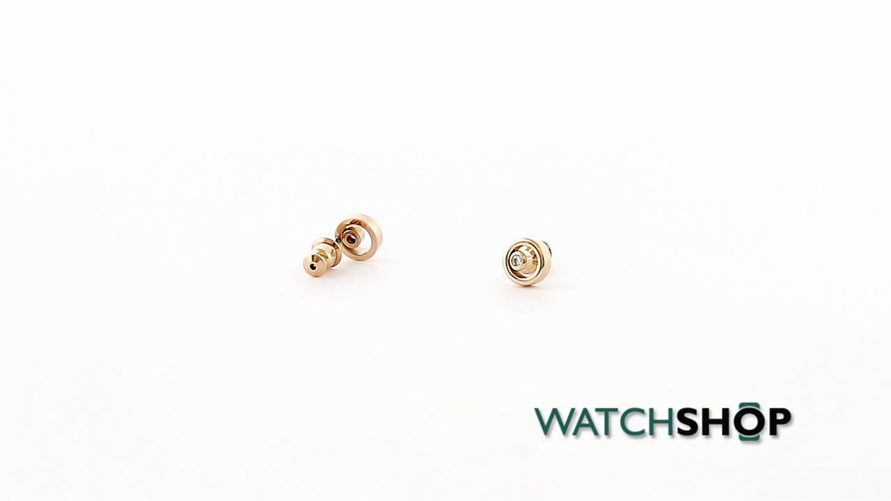 129158278 Skagen Jewellery Ladies' PVD rose plating Elin Earrings (SKJ0853791 ...
