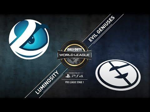 Luminosity vs. Evil Geniuses | CWL Pro League | Division B | Stage 1