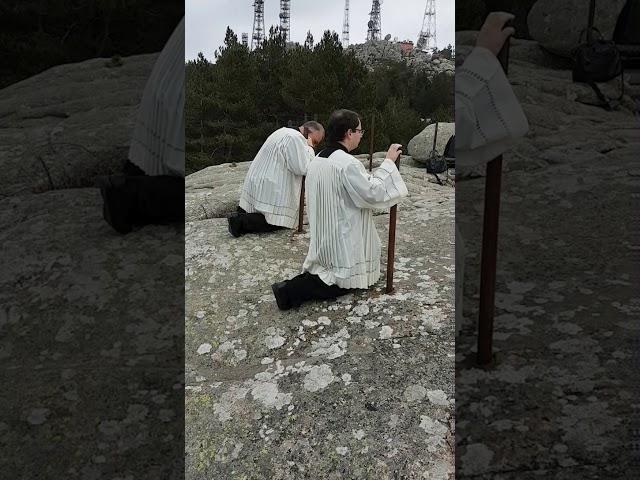 Benedizione della Madonna di Limbara COVID 19