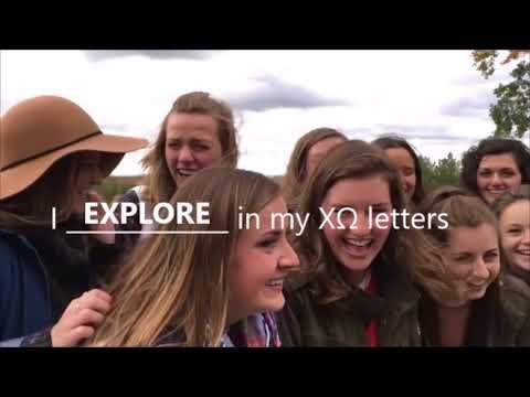 John Carroll University Chi Omega Recruitment Video 2017