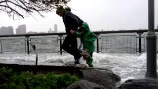 Hurricane Sandy East River Rising NYC