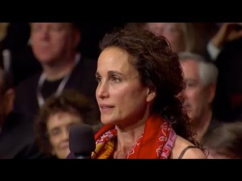 Actress Andie MacDowell: Can Science Create Life?