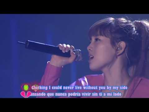 SNSD TAEYEON Hush Hush   Into The New World 1st Asia Tour Live Sub Español