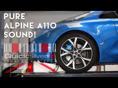 Alpine A110: QuickSilver Sound Architect Exhaust