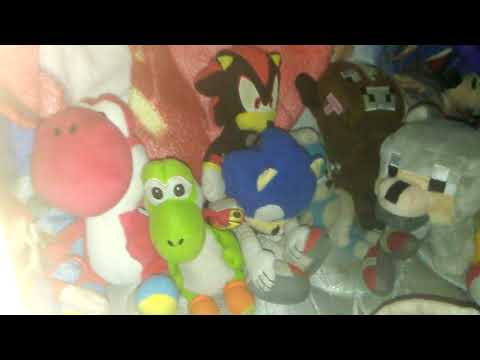 My video game plush collection