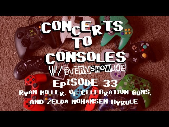 Concerts To Consoles: Episode 33 - Ryan Miller and Zelda Nohansen Hyrule