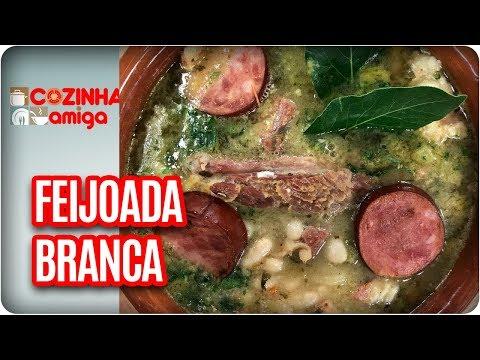 Feijoada Branca Com Farofa Paulista - Patricia Gonçalves  | Cozinha Amiga (04/04/18