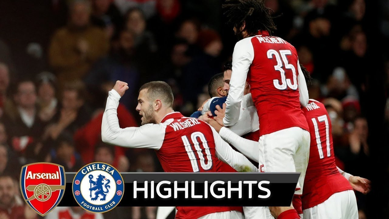 Download Arsenal vs Chelsea 2-1 All Goals & Highlights 24/01/2018