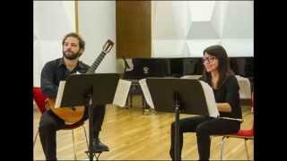 Castelnuovo-Tedesco: Sonatina Op. 205 - I. Allegretto grazioso; Dúo Vani