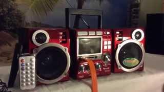MP3 магнитола караоке GOLON RX-697qi