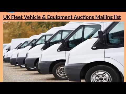 UK Fleet Vehicle Equipment Auctions Mailing list