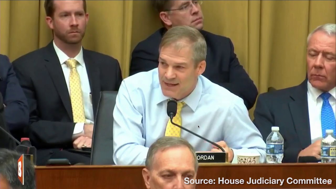 Rep. Jim Jordan Blasts House Judiciary Dems for Trying to Hold A.G. Barr in Contempt of Congress