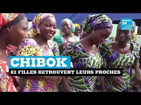 Nigeria : 82 filles de Chibok retrouvent leurs proches