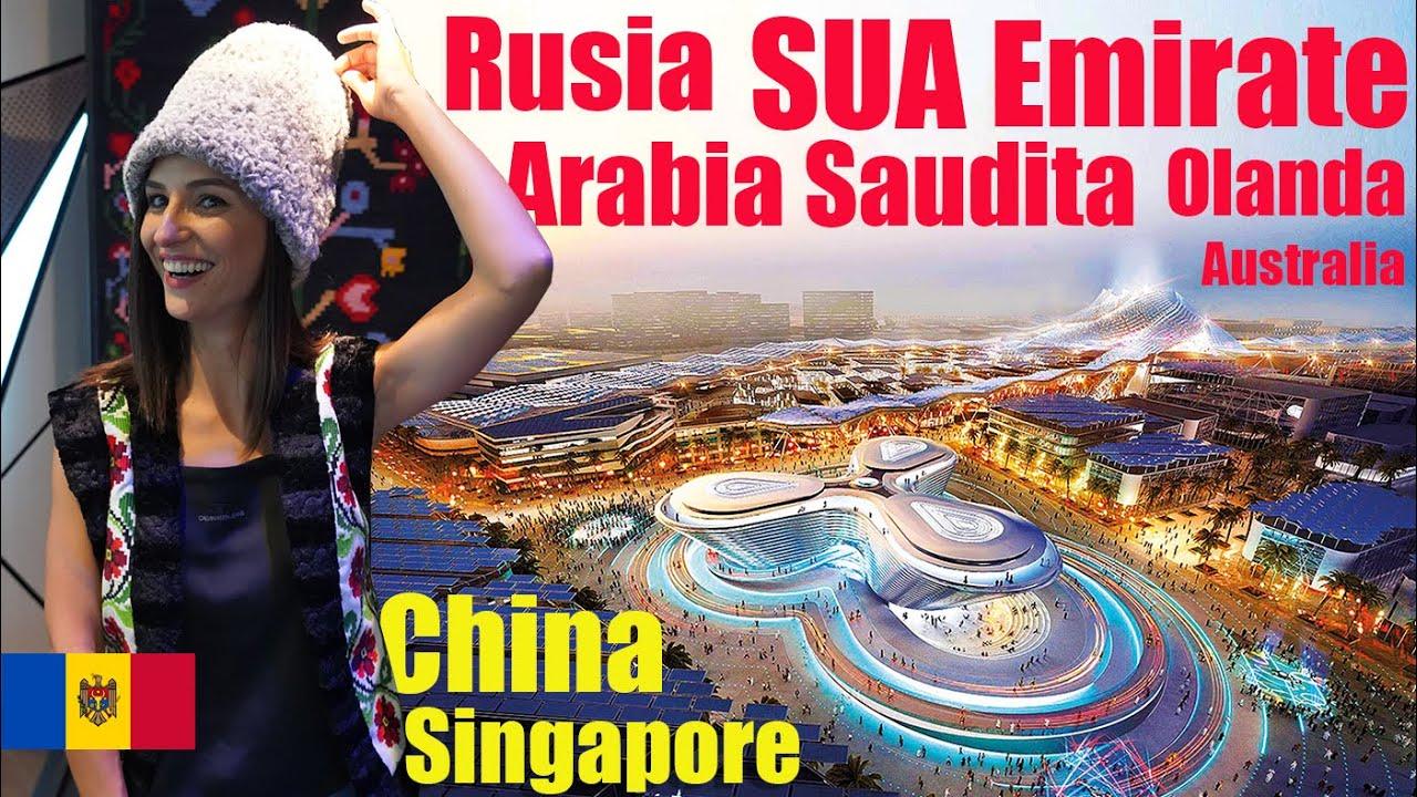 Republica Moldova, lectie la Expo 2020! Top pavilioane in Dubai ??