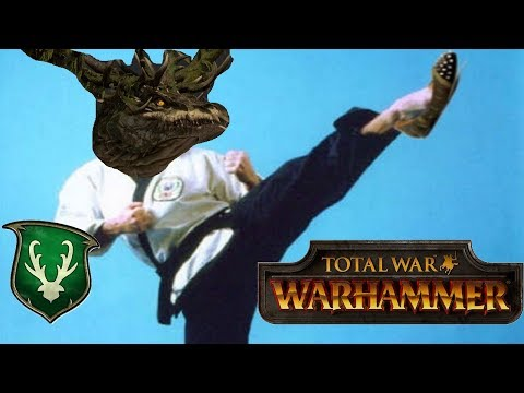 Wood Elves vs Empire -THE FOREST DRAGON | Total War Warhammer Community Cast #25