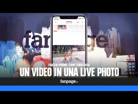 Impostare sfondo live iphone 6