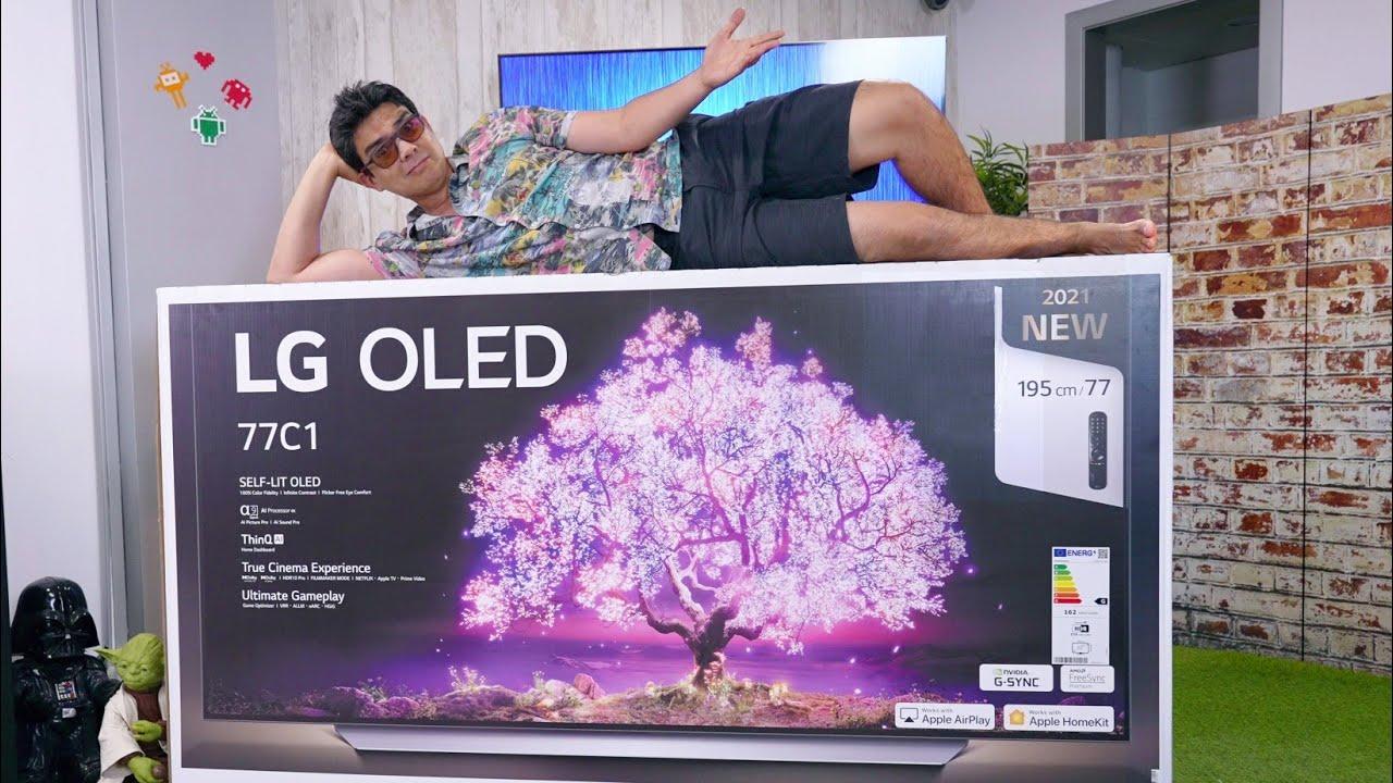 ESTA TV ES LO MÁS GRANDE!!!!!!! No puede ser mejor que la mía... | LG Oled 77C1