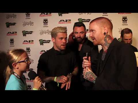 APMAs 2017 - Piper interview Memphis May Fire