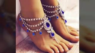 Collections of newly and Beautiful anklets designs for women