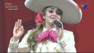 S no te gusta lo que soy, Sandra Guevara en el programa Un Canto a Jalisco.