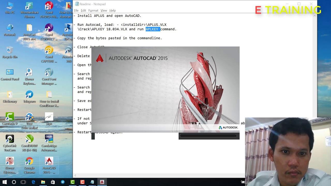 How to Install APLUS 18 into Autocad 2015 - E Training