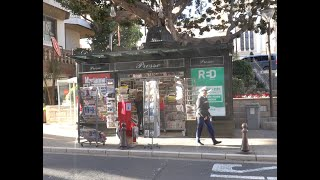 Newspaper Stand - Monaco 2019