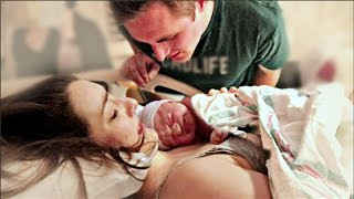 EMOTIONAL BIRTH OF OUR BABY GIRL! | Nat +Wes| Natural VBAC Birth Vlog