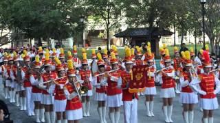 明德中學2015年校慶樂隊表演