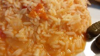 Receita de arroz de tomate by necasdevaladares