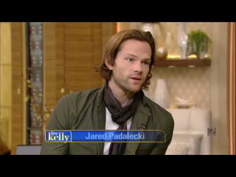 Jared Padalecki interview Live With Kelly November 07, 2016