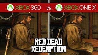 Red Dead Redemption Comparison - Xbox 360 vs. Xbox One X