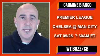 Chelsea vs Manchester City Betting Preview | Premier League Picks and Predictions | September 25