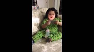 Video A cute baby singing AAJA VE MAHI TERA RASTA VE DEKHLIYAHEENA download MP3, 3GP, MP4, WEBM, AVI, FLV Juli 2018