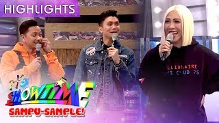 Vice pokes fun at Jhong's outfit | It's Showtime Sampu-Sample