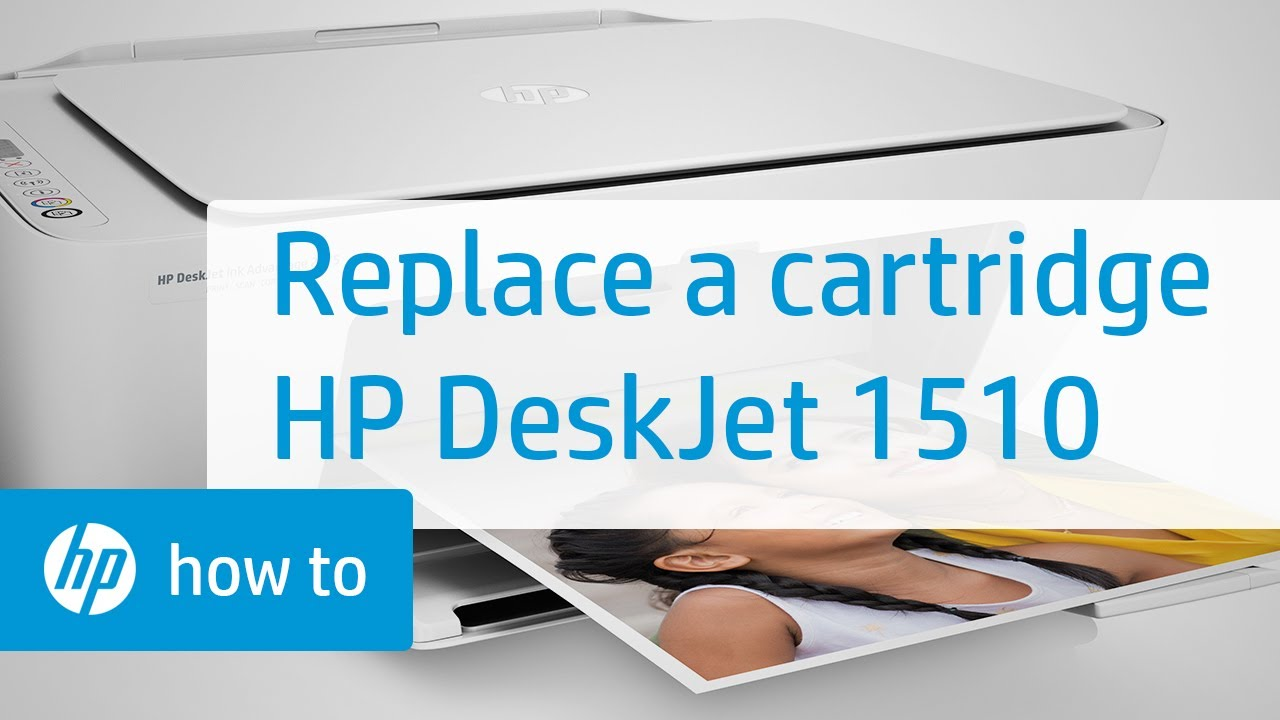 Replacing A Cartridge Hp Deskjet 1510 All In One Printer