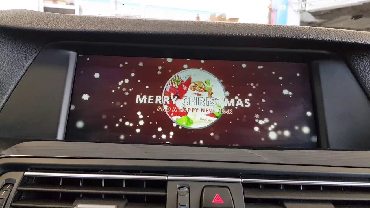 Bmw F10 Merry Christmas Logo Coding Youtube