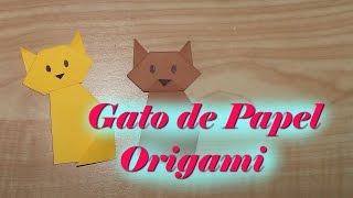 #8 Gato de Papel ( Dobradura/Origami)