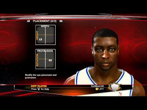 How to create Dwyane Wade on NBA 2K13