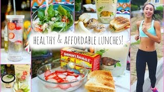 5 Healthy and Affordable Lunch Ideas for School! | MyLifeAsEva