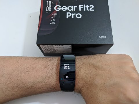 Samsung Gear Fit 2 Pro Unboxing und Installation (Deutsch)
