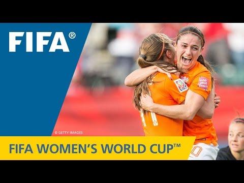 Women's World Cup TOP 10 GOALS: Lieke MARTENS (Netherlands v. New Zealand)